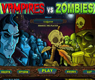 Vampires vs. Zombies logo