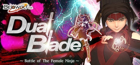 Dual Blade ~ Battle of The Female Ninja ~ logo