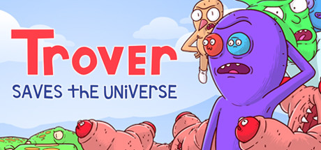 Trover Saves the Universe logo