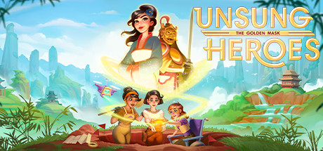 Unsung Heroes - The Golden Mask Collector's Edition logo