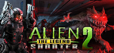 Alien Shooter 2 - The Legend logo