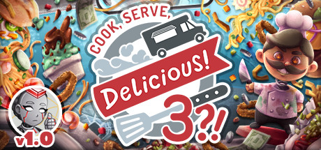 Cook, Serve, Delicious! 3?! logo