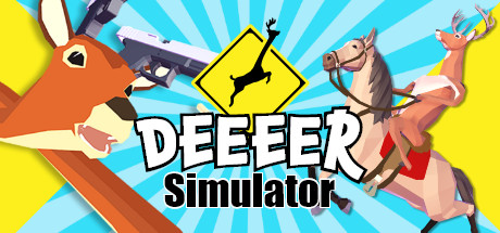 DEEEER Simulator: Your Average Everyday Deer Game logo