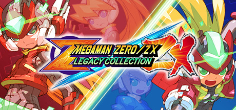 Mega Man Zero/ZX Legacy Collection logo