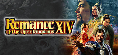 ROMANCE OF THE THREE KINGDOMS XIV logo