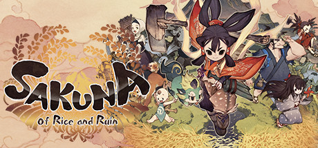 Sakuna: Of Rice and Ruin logo