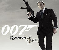 James Bond 007: Quantum Of Solace logo
