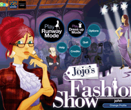 Jojo's Fashion Show logo