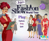 Jojo's fashion show 3: World tour logo