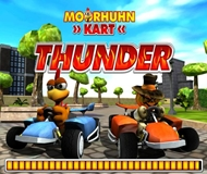 Crazy Chicken Kart Thunder logo