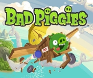 Bad Piggies: Flight in the Night logo