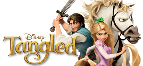Disney Tangled: The Video Game logo