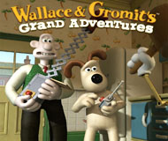 Wallace and Gromit's Grand Adventures logo
