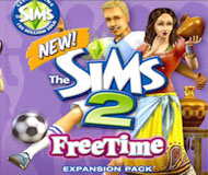 The Sims 2: Freetime logo