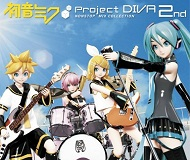 Hatsune Miku: Project DIVA 2nd logo