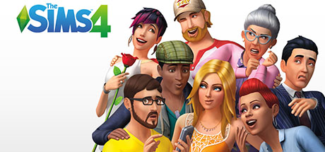 The Sims 4: Deluxe Edition logo