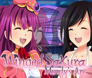 Winged Sakura: Mindy's Arc logo