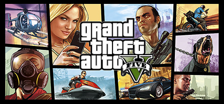 GTA Grand Theft Auto V logo