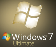 Windows 7 Ultimate SP1 - 32 bit logo