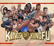 Kings of Kung Fu logo