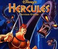 Disney's Hercules Action Game logo