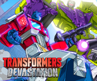 TRANSFORMERS: Devastation logo