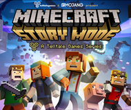 Minecraft: Story Mode - A Telltale Games Series logo