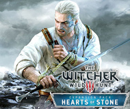 The Witcher 3: Wild Hunt - Hearts of Stone logo
