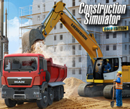 Construction Simulator: Gold Edition logo