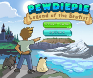 PewDiePie: Legend of the Brofist logo