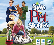 The Sims Pet Stories logo