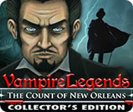 Vampire Legends: The Count of New Orleans Collector's Edition logo