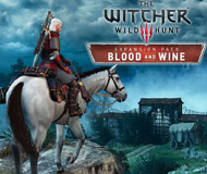 The Witcher 3: Wild Hunt - Blood and Wine logo
