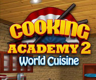 Cooking Academy 2: World Cuisine logo