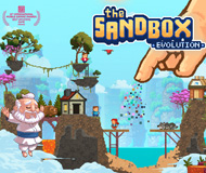 The Sandbox Evolution - Craft a 2D Pixel Universe! logo
