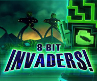 8-Bit Invaders! logo