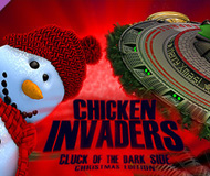 Chicken Invaders 5: Cluck of the Dark Side - Christmas Edition logo