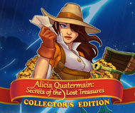 Alicia Quatermain: Secret of the Lost Treasures Collector's Edition logo