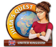 Julia's Quest: United Kingdom logo