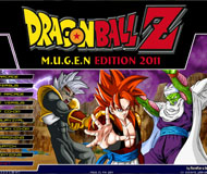 Dragon Ball Z MUGEN Edition 2011 logo