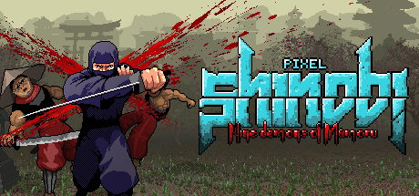Pixel Shinobi Nine demons of Mamoru