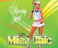 Miss Chic 2 - Sporty Girl logo