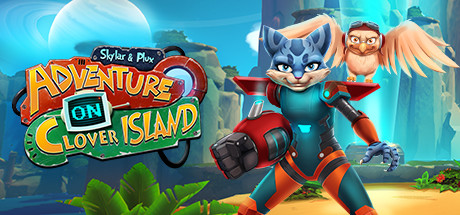 Skylar & Plux: Adventure On Clover Island logo