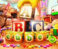 ABC Cubes: Teddy's Playground logo