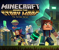 Minecraft: Story Mode - Season Two logo