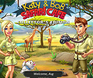 Katy And Bob: Safari Cafe - Collector's Edition