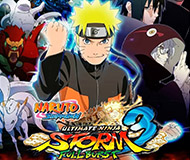 NARUTO SHIPPUDEN: Ultimate Ninja STORM 3 Full Burst HD logo