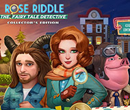 Rose Riddle: The Fairy Tale Detective Collector's Edition logo