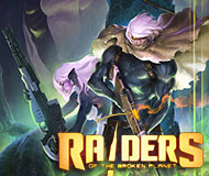 Raiders of the Broken Planet - Alien Myths Campaign logo
