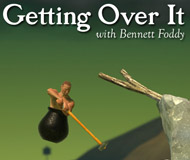 Getting Over It with Bennett Foddy logo